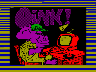 OINK — ZX SPECTRUM GAME ИГРА