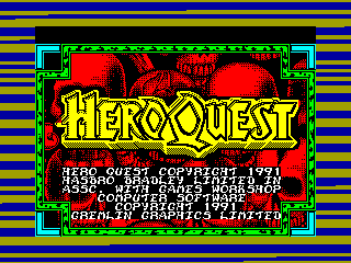 Hero Quest — ZX SPECTRUM GAME ИГРА