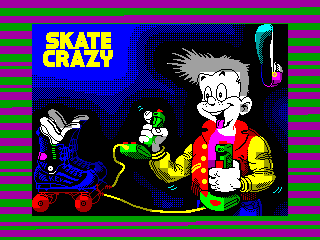 Skate Crazy — ZX SPECTRUM GAME ИГРА