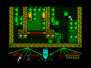 Mr. Weems and the She Vampires — ZX SPECTRUM GAME ИГРА