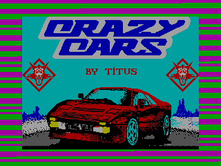 Crazy Cars — ZX SPECTRUM GAME ИГРА
