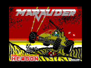 Marauder — ZX SPECTRUM GAME ИГРА
