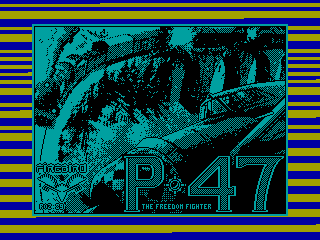 P-47 Thunderbolt — ZX SPECTRUM GAME ИГРА