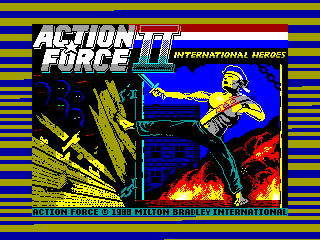 Action Force II — ZX SPECTRUM GAME ИГРА