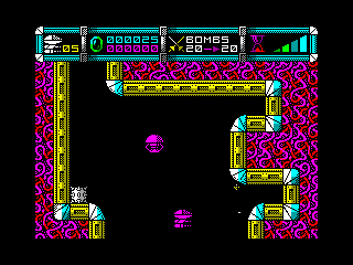 CYBERNOID — ZX SPECTRUM GAME ИГРА