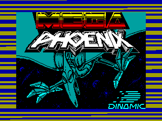 Megaphoenix — ZX SPECTRUM GAME ИГРА