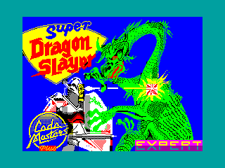 Super Dragon Slayer — ZX SPECTRUM GAME ИГРА