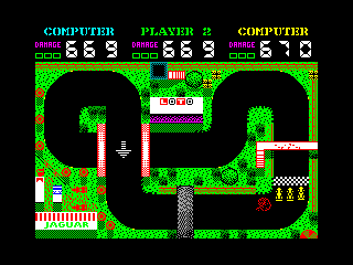 Grand Prix Simulator 2 — ZX SPECTRUM GAME ИГРА