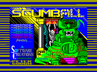 Scumball — ZX SPECTRUM GAME ИГРА