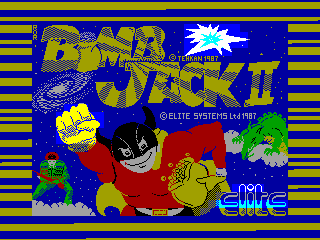 Bomb Jack II — ZX SPECTRUM GAME ИГРА