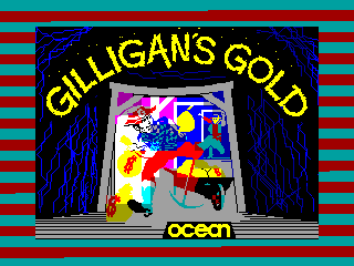 Gilligan's Gold — ZX SPECTRUM GAME ИГРА