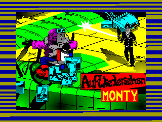 MONTY MOLE 3 — ZX SPECTRUM GAME ИГРА