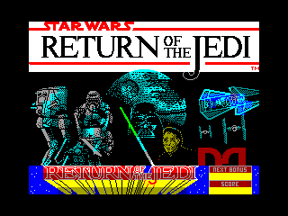 Return of the Jedi — ZX SPECTRUM GAME ИГРА