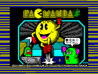 Pac-Mania — ZX SPECTRUM GAME ИГРА