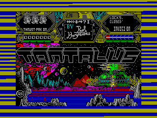 Moons of Tantalus — ZX SPECTRUM GAME ИГРА