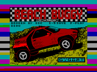 Beach Buggy Simulator — ZX SPECTRUM GAME ИГРА