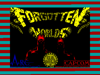FORGOTTEN WORLDS — ZX SPECTRUM GAME ИГРА