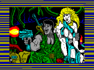 Jungle Warrior — ZX SPECTRUM GAME ИГРА