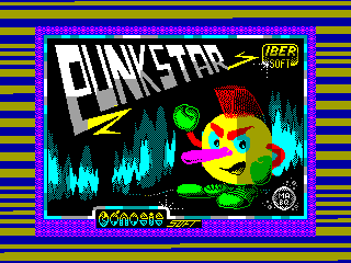 Punk Star — ZX SPECTRUM GAME ИГРА