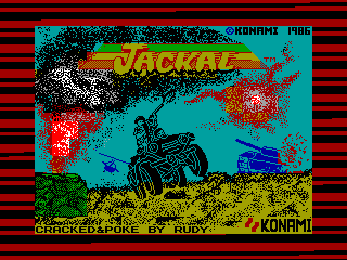 Jackal — ZX SPECTRUM GAME ИГРА