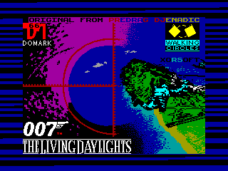 Living Daylights - The Computer Game, The — ZX SPECTRUM GAME ИГРА
