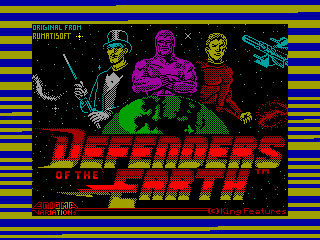 Defenders of the Earth — ZX SPECTRUM GAME ИГРА