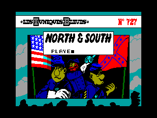 NORTH & SOUTH — ZX SPECTRUM GAME ИГРА