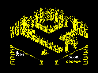 Pentagram — ZX SPECTRUM GAME ИГРА