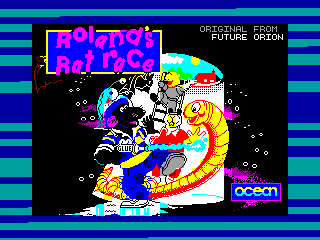 Roland's Rat Race — ZX SPECTRUM GAME ИГРА