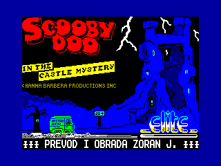 SCOOBY DOO CASTLE — ZX SPECTRUM GAME ИГРА