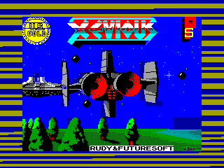 Xevious — ZX SPECTRUM GAME ИГРА