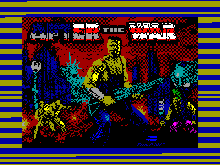 AFTER THE WAR 1 — ZX SPECTRUM GAME ИГРА