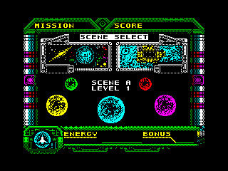 GALAXY FORCE — ZX SPECTRUM GAME ИГРА