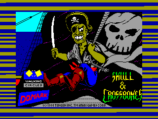 SKULL & CROSSBONES — ZX SPECTRUM GAME ИГРА