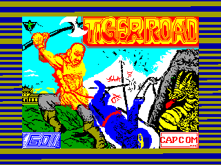 Tiger Road — ZX SPECTRUM GAME ИГРА