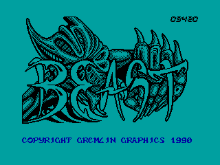 Shadow of the Beast — ZX SPECTRUM GAME ИГРА