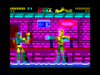 Bronx — ZX SPECTRUM GAME ИГРА