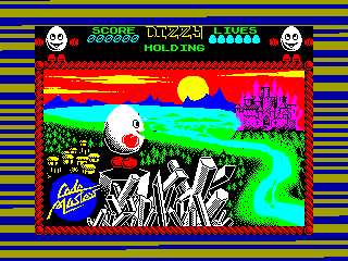 DIZZY 1 — ZX SPECTRUM GAME ИГРА
