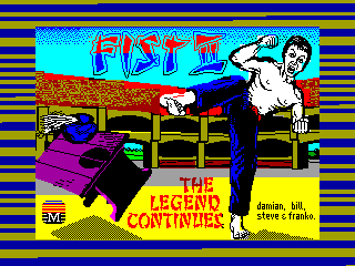 Fist II: The Legend Continues — ZX SPECTRUM GAME ИГРА