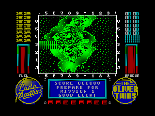 Operation Gunship — ZX SPECTRUM GAME ИГРА
