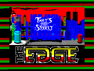That's the Spirit — ZX SPECTRUM GAME ИГРА