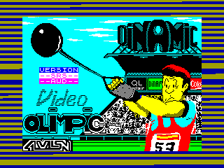 Video Olimpic — ZX SPECTRUM GAME ИГРА