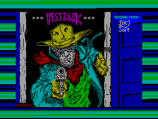 West Bank — ZX SPECTRUM GAME ИГРА