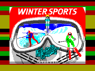 Winter Sports — ZX SPECTRUM GAME ИГРА