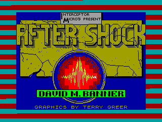 After Shock — ZX SPECTRUM GAME ИГРА
