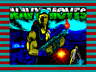 NAVY MOVES PART 1 — ZX SPECTRUM GAME ИГРА