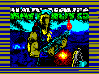 NAVY MOVES PART 2 — ZX SPECTRUM GAME ИГРА