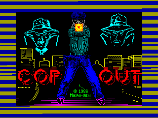 Cop-Out — ZX SPECTRUM GAME ИГРА