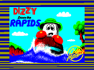 Dizzy Down the Rapids — ZX SPECTRUM GAME ИГРА
