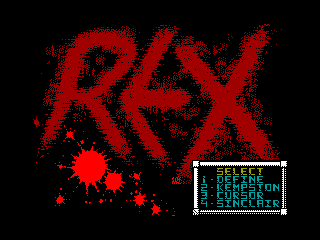 REX 1 — ZX SPECTRUM GAME ИГРА